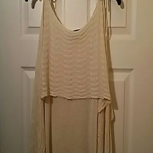 Beautiful cold shoulder sweater